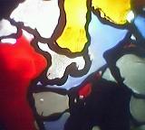 organische Farbflecken