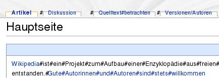 MonoBook-Darstellungsprobleme mit Firefox 2